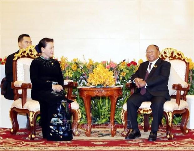 Le president de l'AN cambodgienne en visite au Vietnam la semaine prochaine hinh anh 1