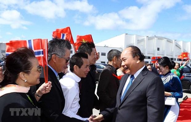 Le PM Nguyen Xuan Phuc conclut sa visite officielle en Norvege hinh anh 1