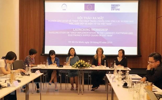 Presentation d'une etude sur les entreprises et les droits de l'homme hinh anh 1