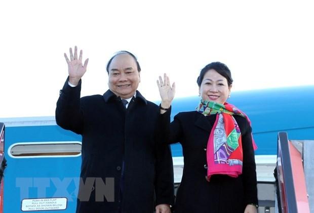 Le PM Nguyen Xuan Phuc termine sa visite officielle en Russie, en Norvege et en Suede hinh anh 1
