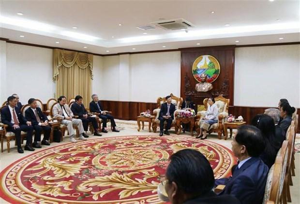 Pour approfondir les relations speciales Vietnam-Laos hinh anh 1