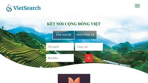 VietSearch, le portail d'information qui veut connecter les Viet kieu hinh anh 2