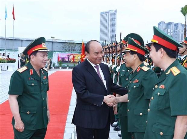 Le chef du gouvernement exhorte Viettel a entrer dans le top 10 mondial hinh anh 1