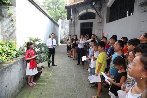 Des programmes pour sensibiliser les eleves a la valorisation du patrimoine hinh anh 2