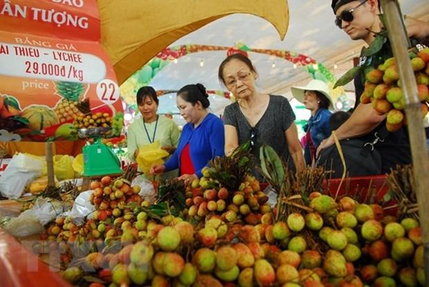 Ouverture de la Fete des fruits du Nam Bo a Ho Chi Minh-Ville hinh anh 1