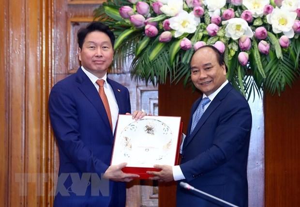 Le Vietnam salue l'investissement du groupe sud-coreen SK hinh anh 1