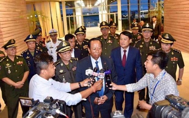 Le Cambodge fustige les propos de Lee Hsien Loong au Dialogue Shangri-La hinh anh 1