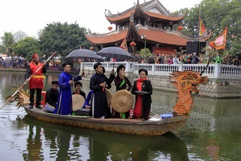 Bac Ninh : Toute la vie s'attache aux chants populaires quan ho hinh anh 1