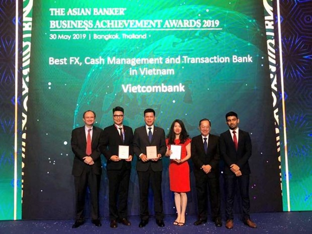 Vietcombank recoit trois recompenses importantes de The Asian Banker hinh anh 1
