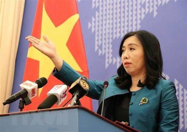 Le Vietnam envoie une note de protestation a l'ambassade de Singapour a Hanoi hinh anh 1