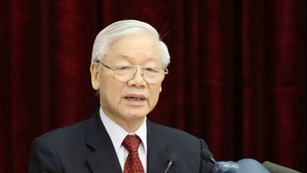 Nguyen Phu Trong cite des orientations dans la preparation au Congres national du Parti hinh anh 1