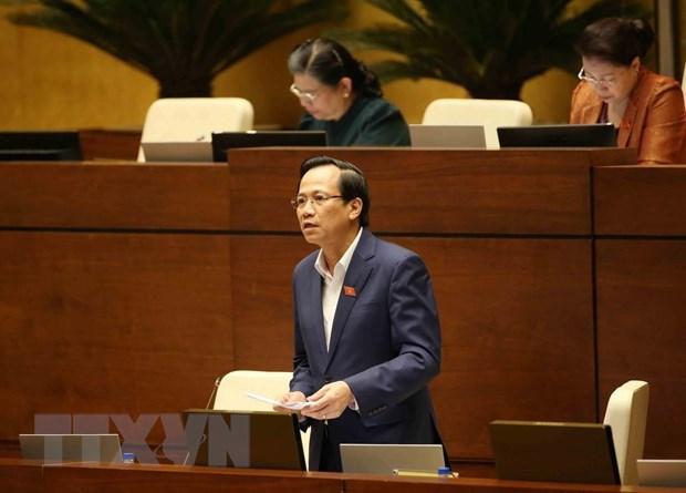 L'AN discute de l'adhesion du Vietnam a la Convention (n° 98) de l'OIT hinh anh 1