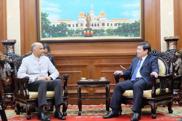 Ho Chi Minh-Ville renforce ses liens avec l'Inde hinh anh 1