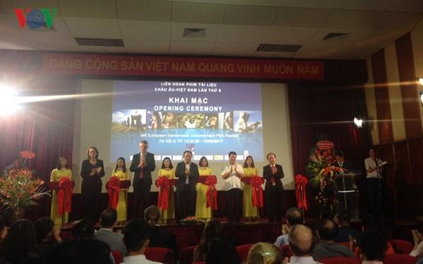 Belle visibilite vietnamienne au 10e Festival du film documentaire Europe-Vietnam hinh anh 1