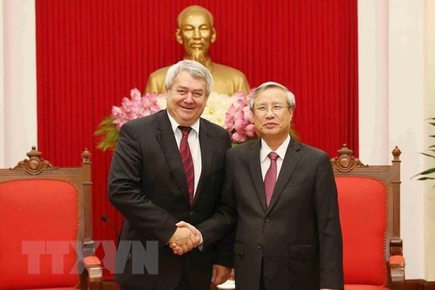 Le Vietnam et la Republique tcheque intensifient les relations hinh anh 1