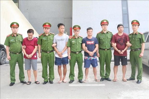 Le Vietnam remet quatre Chinois recherches a la police chinoise hinh anh 1