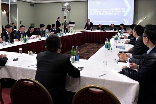 Conference des chefs de mission et des charges commerciaux vietnamiens en Europe hinh anh 1