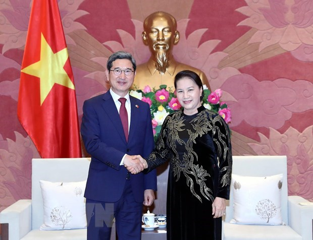 Le Vietnam pret a parler de partenariat avec la R. de Coree hinh anh 1