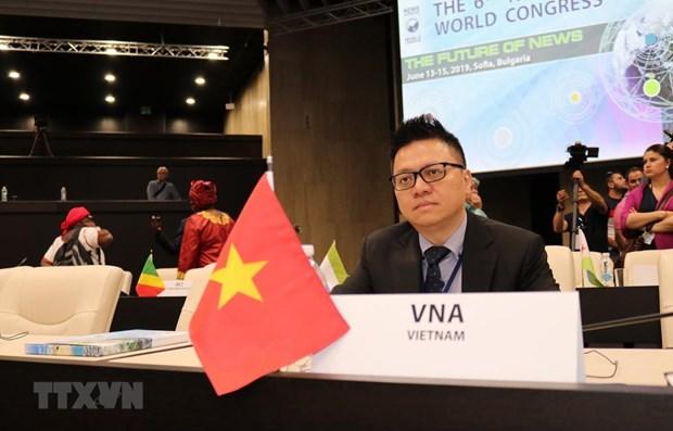 Le Vietnam participe au 6e Congres international des agences de presse a Sofia hinh anh 1