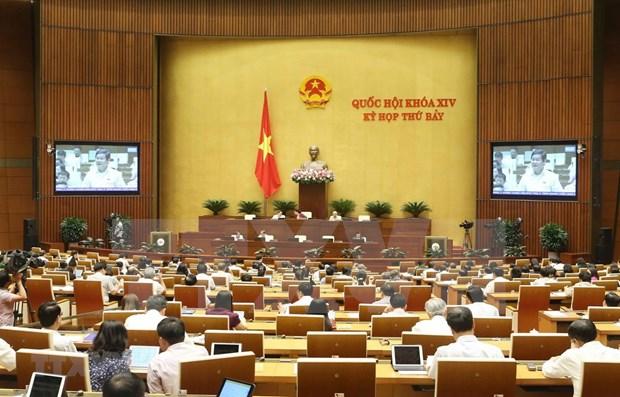 L'Assemblee nationale approuve plusieurs projets de loi hinh anh 1