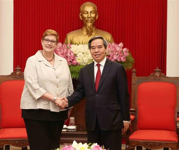 Promotion des relations Vietnam - Australie hinh anh 1