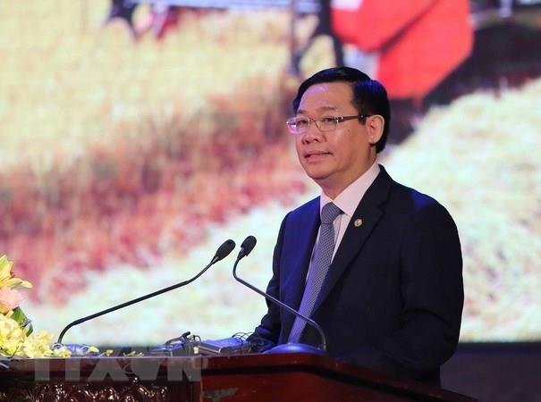 Le vice-PM Vuong Dinh Hue va se rendre au Myanmar et en R. de Coree hinh anh 1