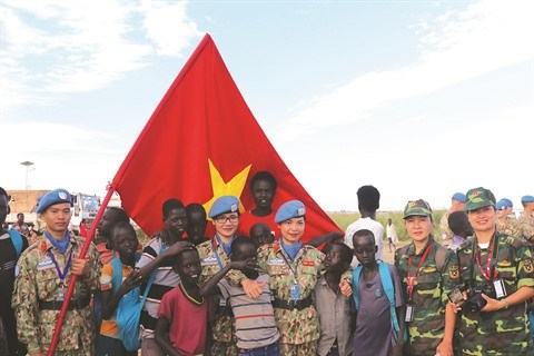 Du Vietnam au Soudan du Sud : Mission pour la paix hinh anh 2