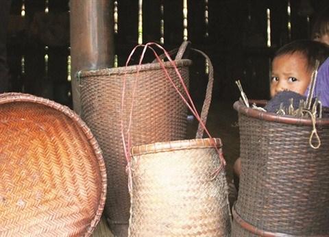 Un village montagnard et ses bambous geants a Quang Nam hinh anh 2