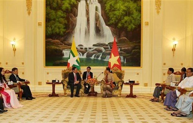 Le Vietnam soutient le Myanmar dans son developpement national hinh anh 1