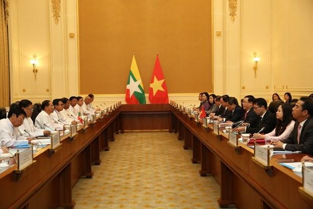 Le Vietnam souhaite developper ses relations avec le Myanmar hinh anh 1