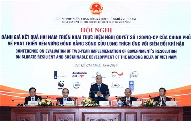Le delta du Mekong s'oriente vers l'adaptation au changement climatique hinh anh 1