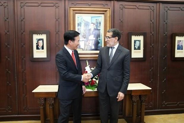 Vietnam et Maroc souhaitent avancer leur cooperation multiforme hinh anh 1