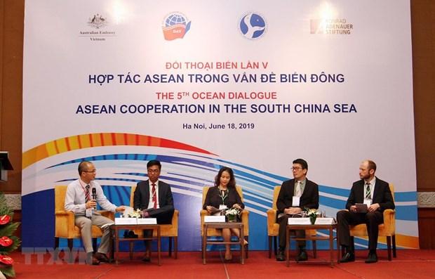 Le 5e dialogue sur l'ocean porte sur la cooperation de l'ASEAN en mer Orientale hinh anh 1