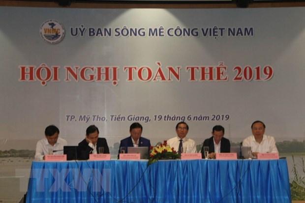 Reunion pleniere du Comite national du Mekong du Vietnam hinh anh 1