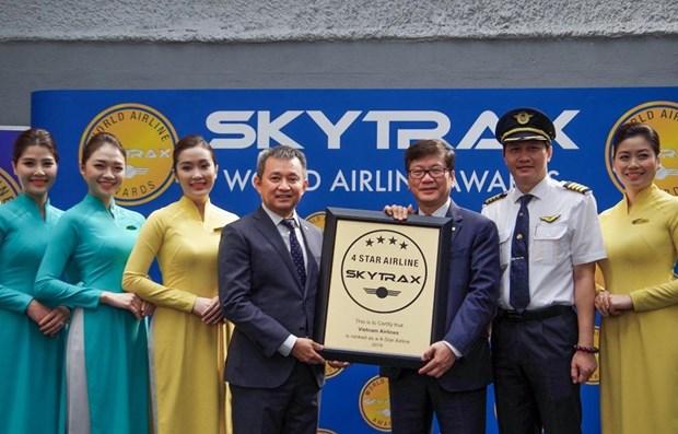 Vietnam Airlines continue d'etre une compagnie aerienne 4 etoiles hinh anh 1