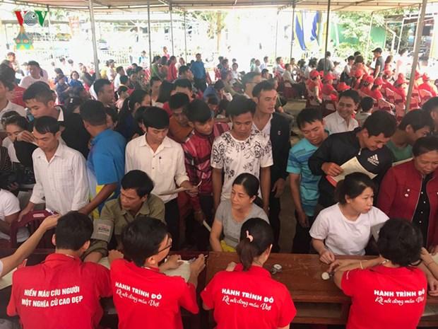 Dak Lak: un don de sang benevole reunit plus de 5.000 participants hinh anh 1