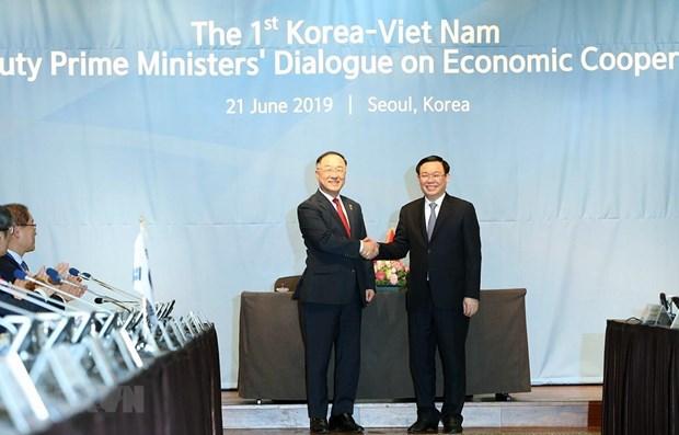 Vietnam-R. de Coree : dialogue economique au niveau de vice-Premier ministre hinh anh 1