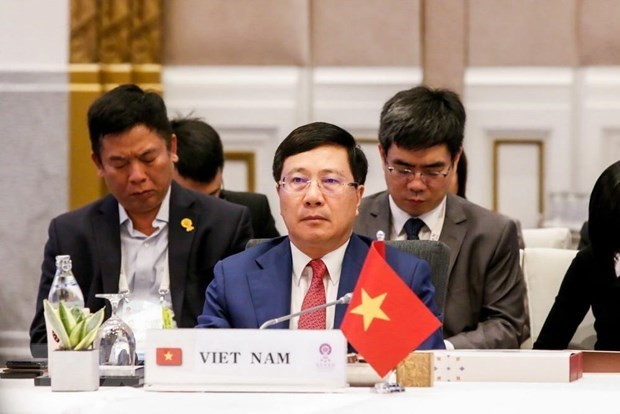 Le Vietnam participe a la conference des ministres des AE de l'ASEAN en Thailande hinh anh 1