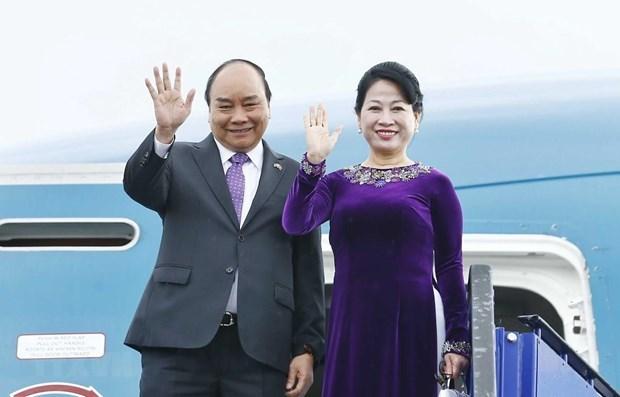 Le Premier ministre part pour le 34e Sommet de l'ASEAN en Thailande hinh anh 1