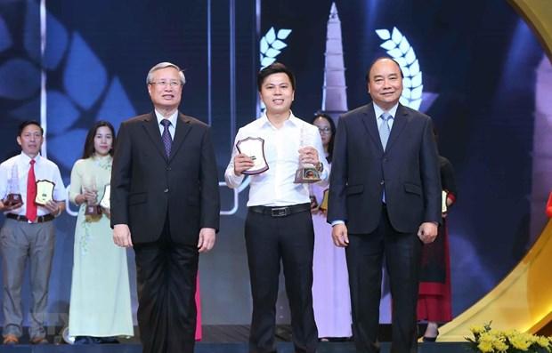 Remise des Prix nationaux de la presse 2018 hinh anh 1