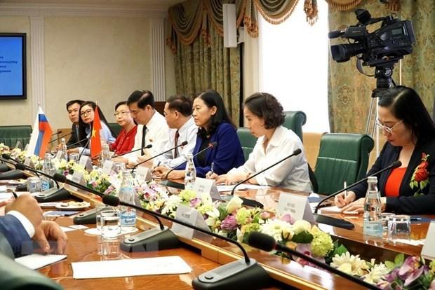 Renforcement de la cooperation parlementaire avec la Russie hinh anh 1