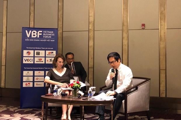 VBF de mi-mandat: role des entreprises dans le developpement rapide et durable hinh anh 1