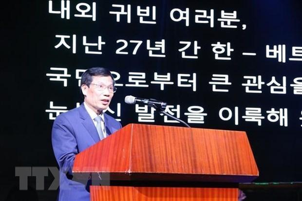 Vietnam et R. de Coree dynamisent leur cooperation dans la culture, les sports et le tourisme hinh anh 1