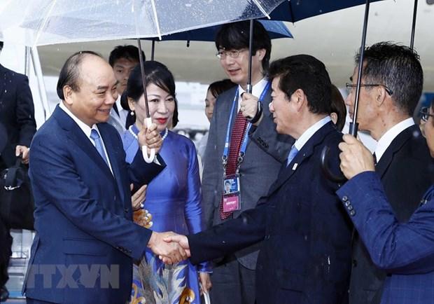 Le PM Nguyen Xuan Phuc est arrive a Osaka pour participer au 14e Sommet du G20 hinh anh 1