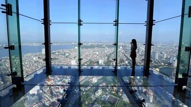Un journal britannique loue l'observatoire Sky Walk (Hanoi) hinh anh 1