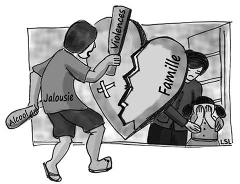 Violence domestique: un fleau passe sous silence hinh anh 1