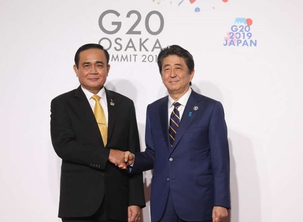 Sommet du G20 : les relations Thailande-Japon se developperont durablement hinh anh 1