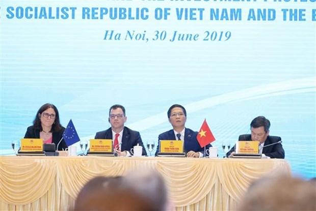 Le gouvernement vietnamien facilitera l'acces des entreprises a l'EVFTA hinh anh 1