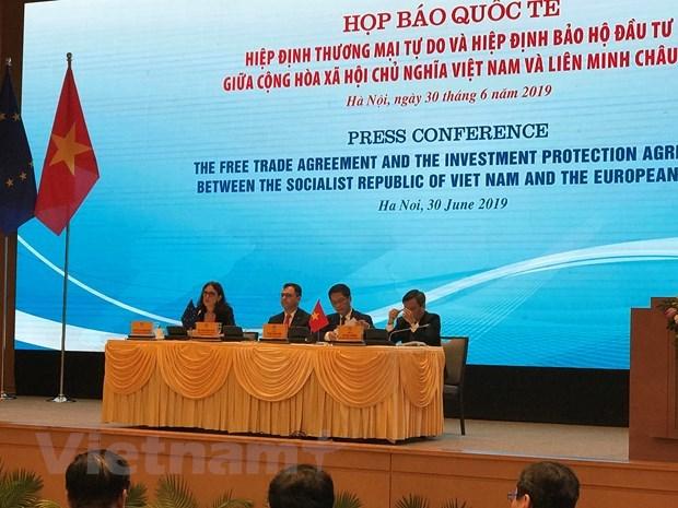 Investissement : l'accord signe avec l'UE va aider a ameliorer le climat des affaires hinh anh 1