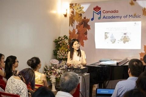 L'Academie canadienne de musique au Vietnam ouvre ses portes hinh anh 1